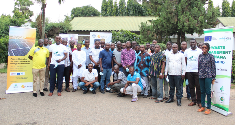 Scrap dealers and E-waste specific MSMEs schooled on modern ways to manage electronic waste