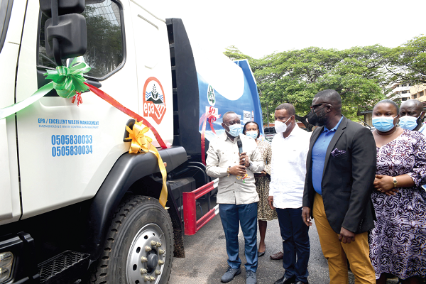 EPA rolls out an e-waste management programme in Accra, Ghana.