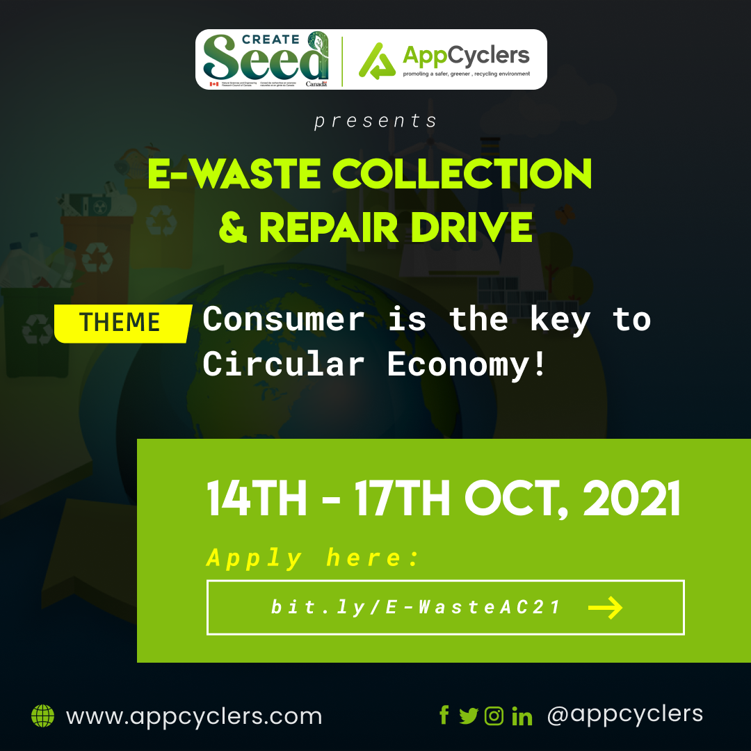 AppCyclers in Collaboration with CREATE SEED Set to Organise an E-waste Collection & Repair Drive in Tamale to Commemorate International E-waste Day.